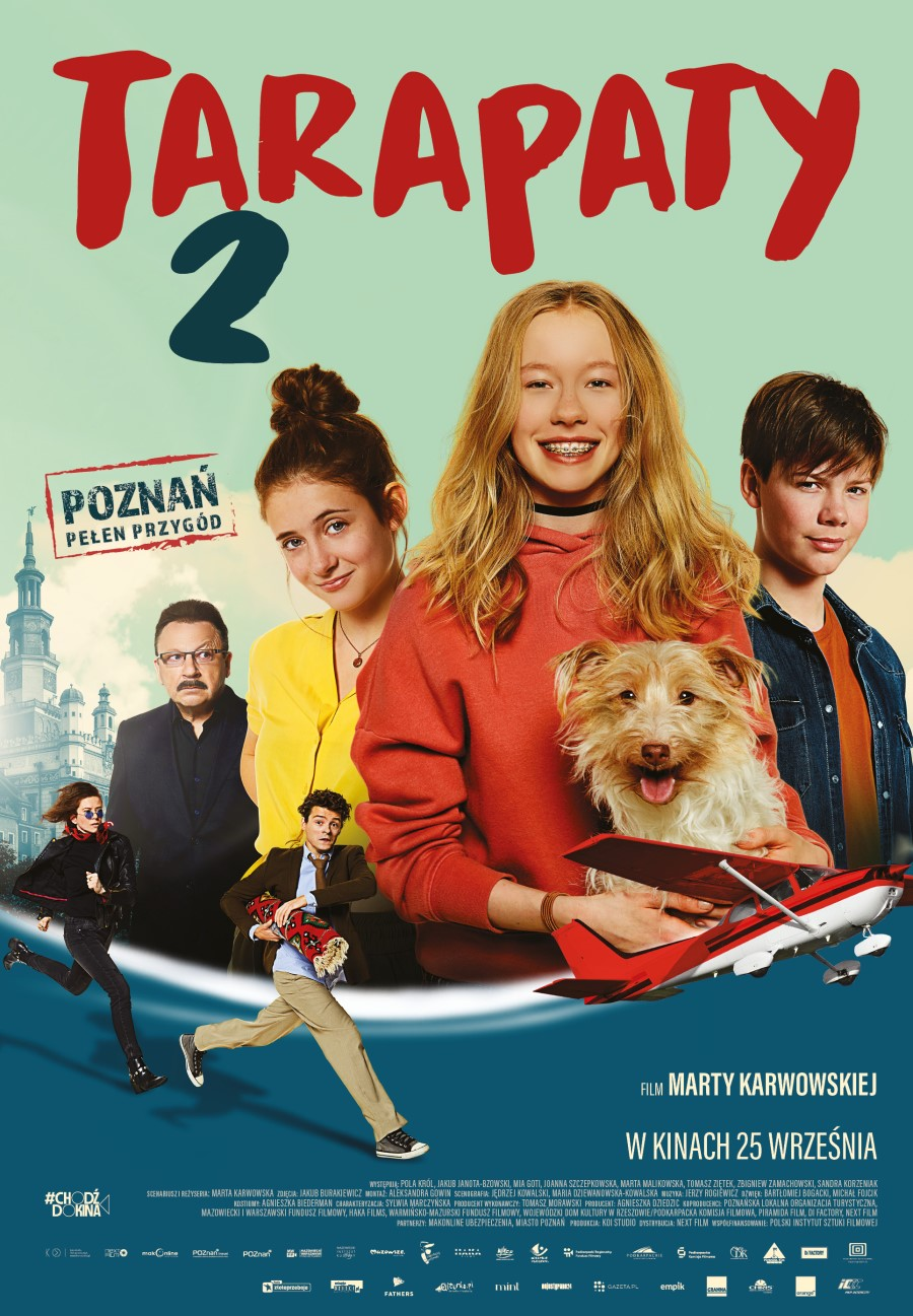 "Plakat filmu ""Tarapaty 2"""