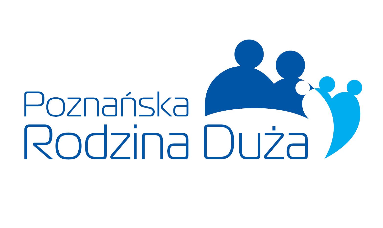 Logo programu Poznańska Rodzina Duża