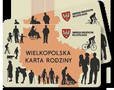 Logo programu Wielkopolska Karta Rodziny