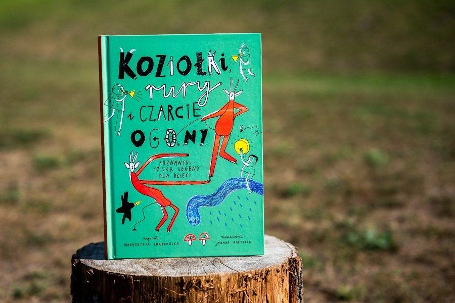 """Publikacja """"Koziołki, rury i czarcie ogony"""" autorstwa Małgorzaty Swędowskiej"""