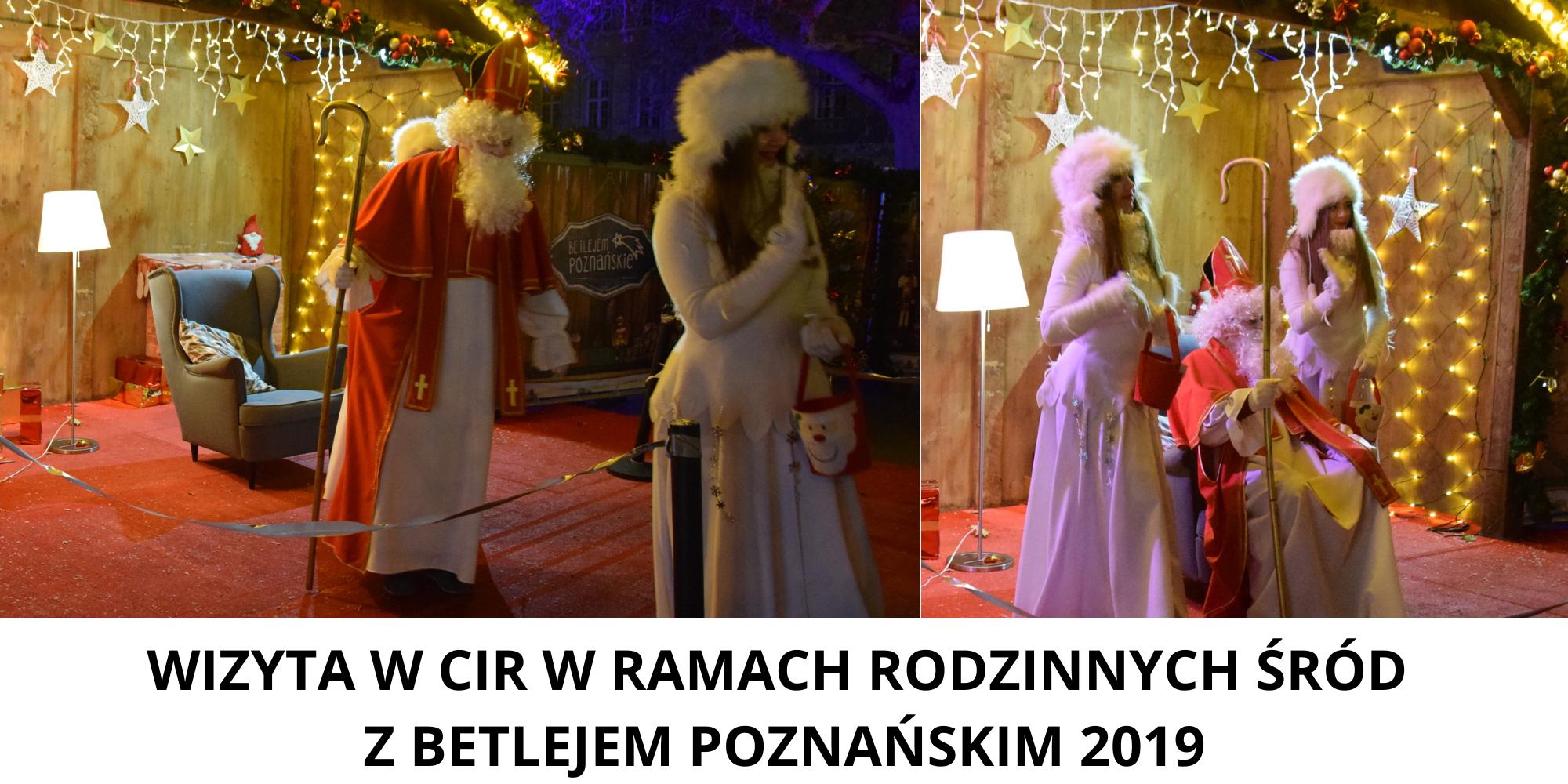 Zdjęcie przedstawia wydarzenie w ramach Betlejem Poznańskiego 2019